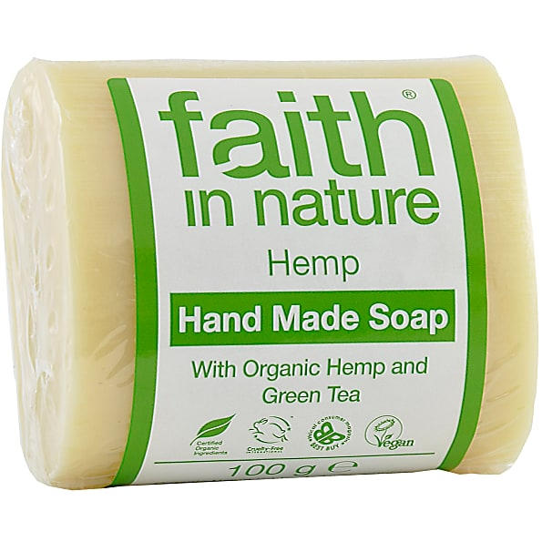 Faith in Nature - Hemp Lemongrass & Green Tea Soap