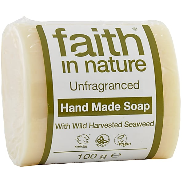Faith In Nature - Fragrance Free Soap