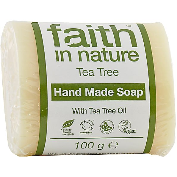 Faith In Nature - Tea Tree Soap