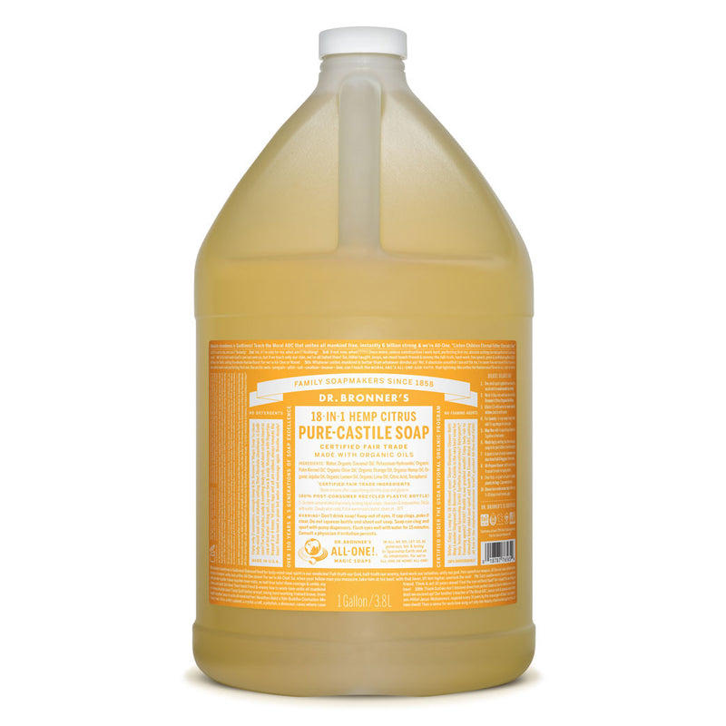 Dr. Bronner's Pure-Castile Liquid Soap - Citrus Orange Bulk