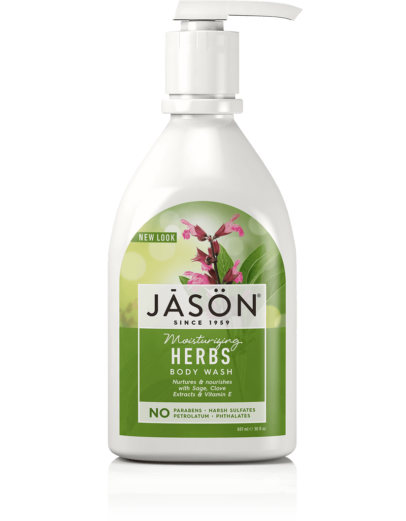 Jason - Herbal Satin Body Wash Pump