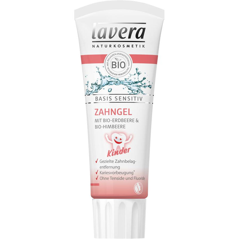 Lavera - Kids Toothgel Straw/Raspberry
