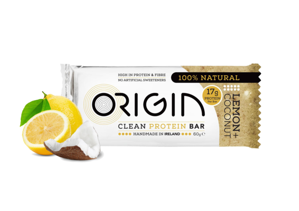 Origin - Lemon & Coconut Clean Protein Bar 16 pack