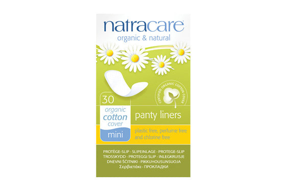 Natracare	Mini Panty Liners	10x30Pce