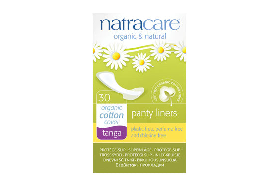 Natracare	Natural Panty Liners - Tanga	16x30Pce