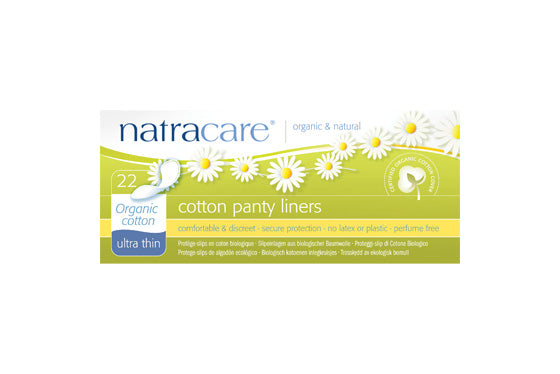 Natracare	Cotton Panty Liners (Org)	16x22Pce