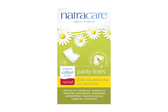 Natracare	Panty Liner Normal Wrapped	10x18s
