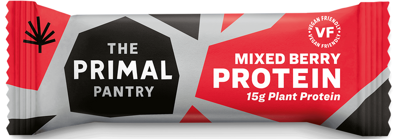 Primal Pantry - Mixed Berries Paleo Protein Bar  15 pack