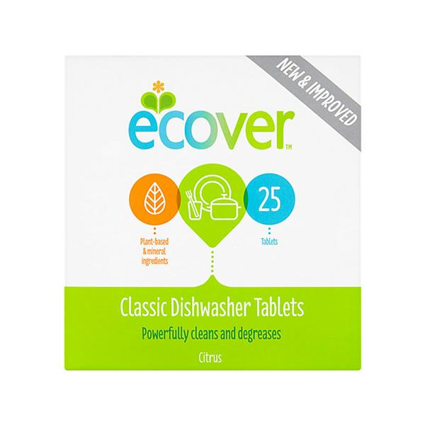 Ecover	Dishwash Tablets All in One	5x70 tabs