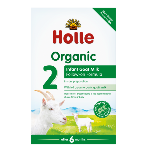 Holle Baby	Goats Milk Follow On 6 Mths+ 	4x400g