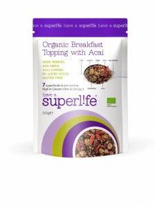 Superlife Superfoods	Breakfast Topping with Acai	1x300g