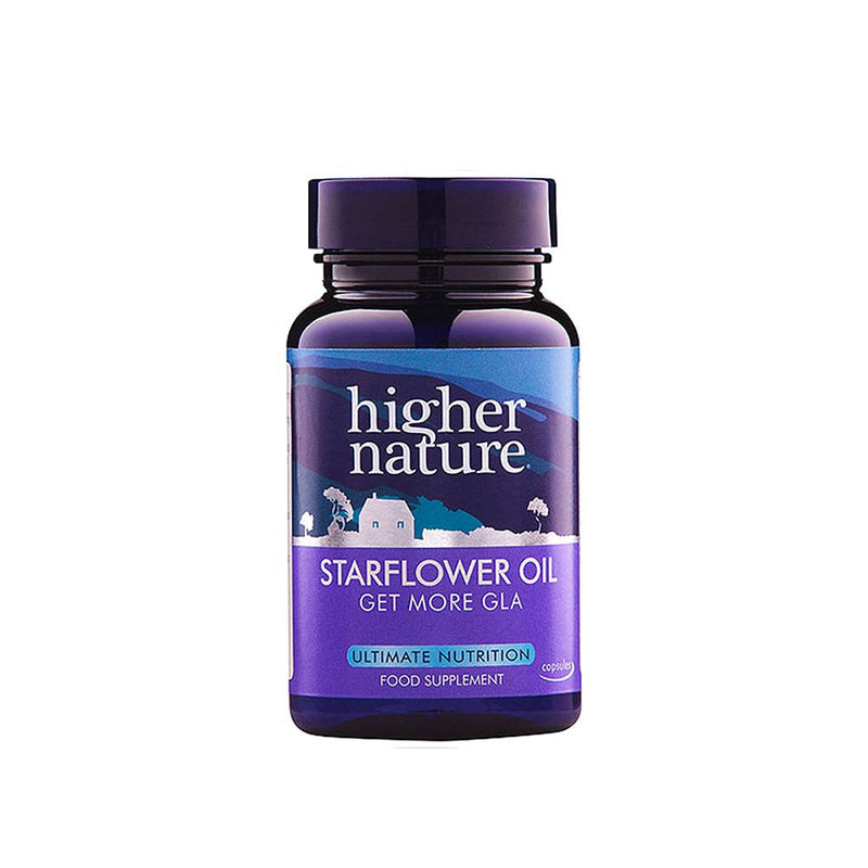 Higher Nature - Starflower Oil 1000mg (204mg GLA)