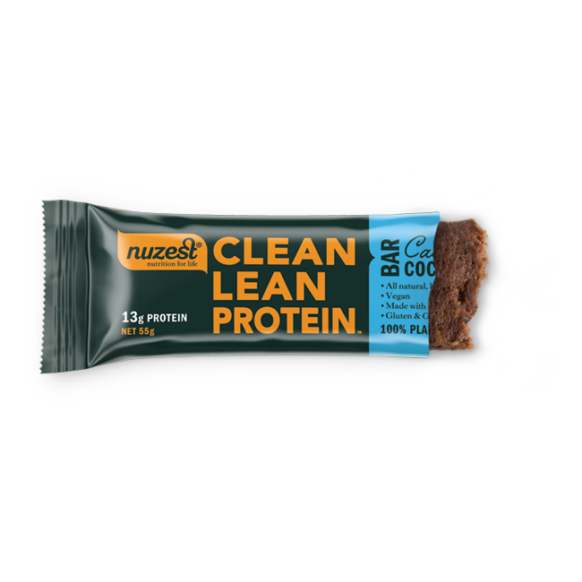 Nuzest - CLP Bar Cacao Coconut 12 Pack