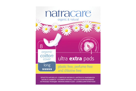 Natracare	Ultra Extra Pads Long w Wings	12x8s