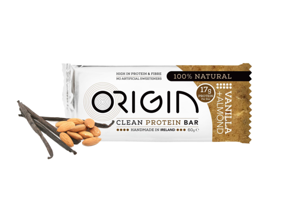 Origin - Almond & Vanilla Clean Protein Bar 16 pack