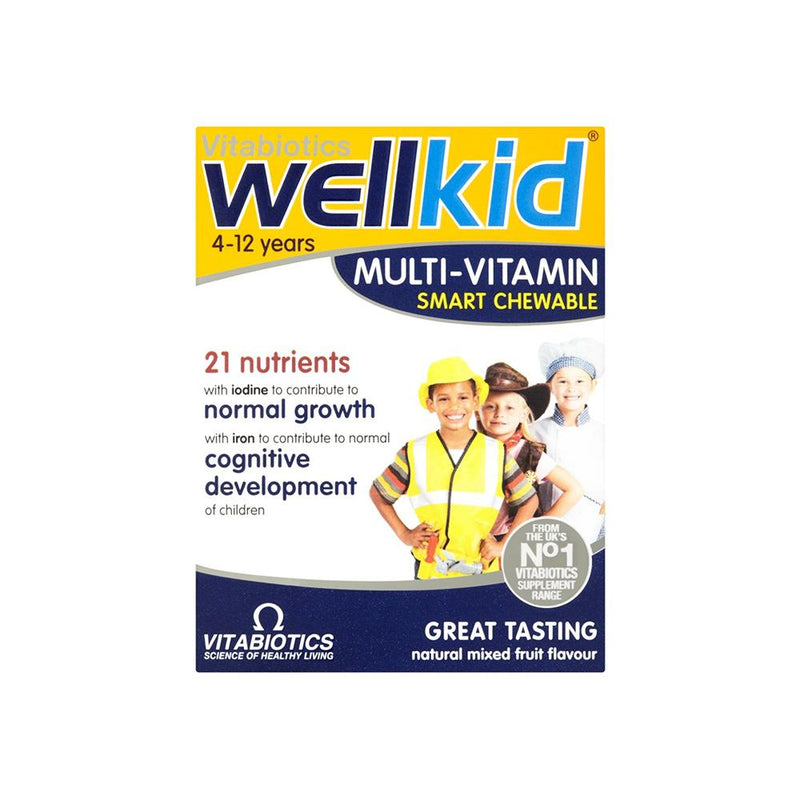 Wellkid Smart Chewable 30s