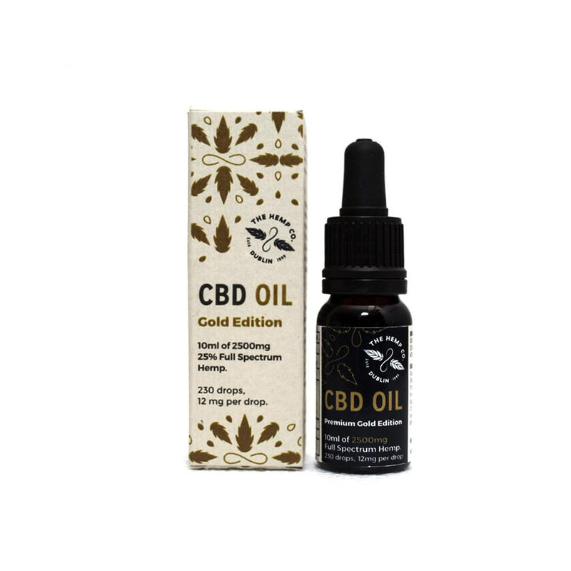 Whole Hemp CBD Oil Gold 25%
