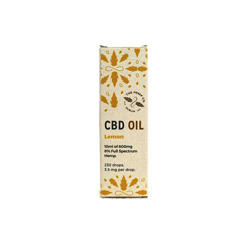 Whole Hemp Lemon CBD Oil 8%