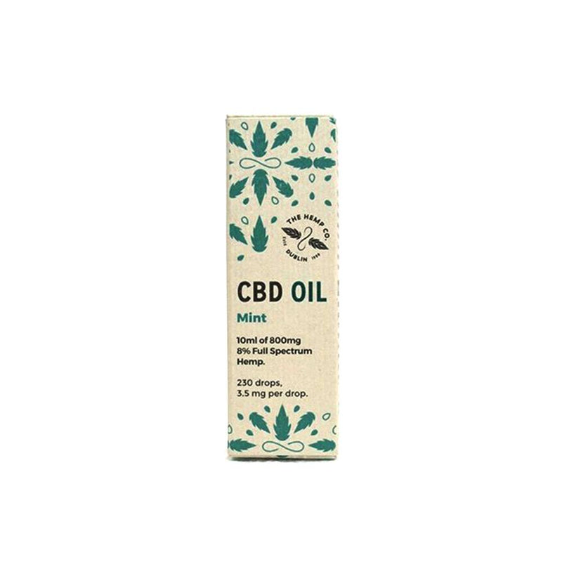 Whole Hemp Mint CBD Oil 8%