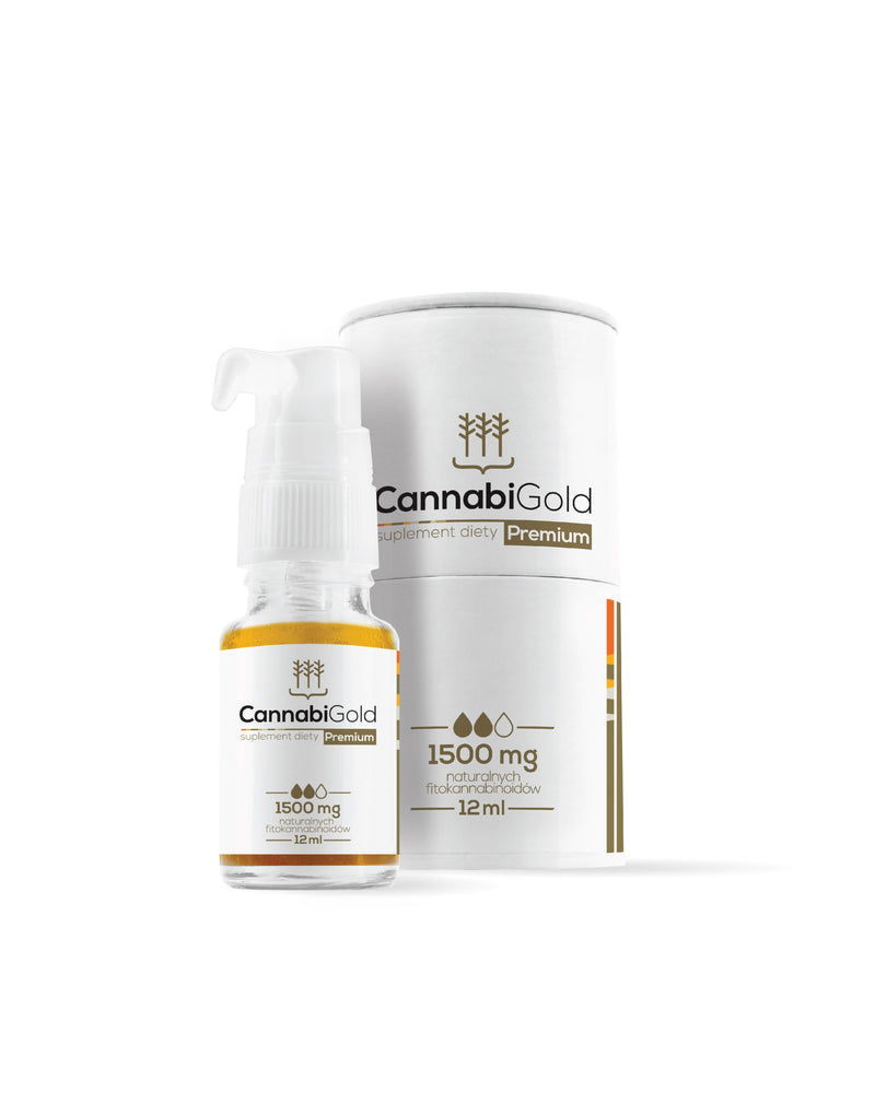 CannabiGold - Premium CBD Oil 15% 1500mg