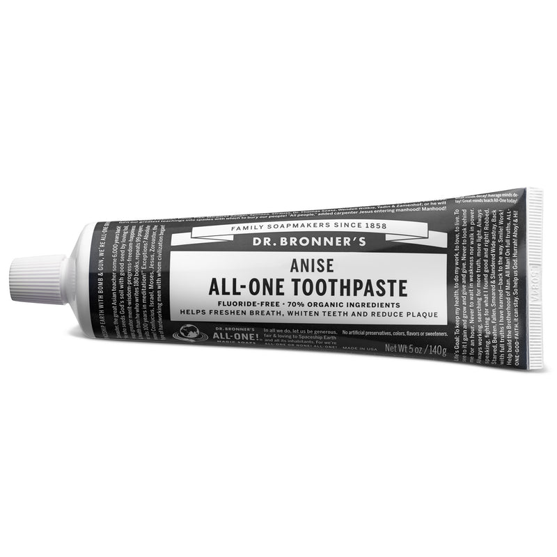 Dr. Bronner's All-One Toothpaste - Anise - 5oz