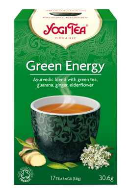 Yogi Tea	Yogi Green Energy Teabags (Org)	6x17Bags