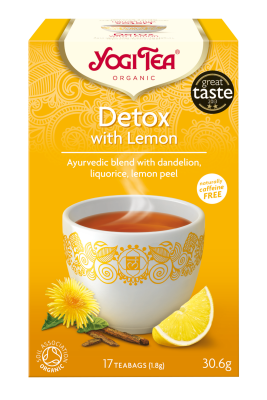 Yogi Tea	Yogi Detox with Lemon (Org)	6x17Bags