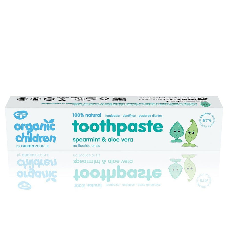 Green People - Spearmint & Aloe Vera Toothpaste 50mL