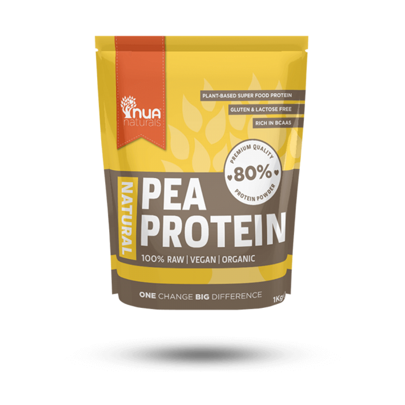 NUA Naturals - Pea Protein Powder Natural 1kg