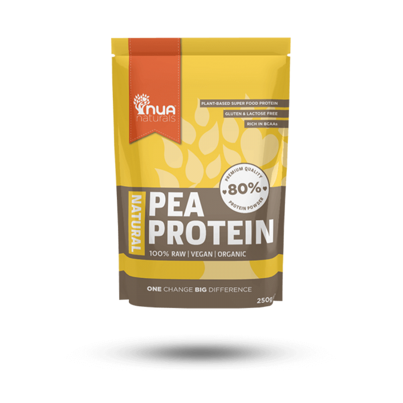 NUA Naturals - Pea Protein Powder Natural 250g