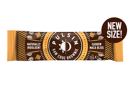 Pulsin - Cashew Maca Bliss Raw Choc Brownie 18 pack