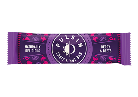 Pulsin - Berry & Beets Fruit & Nut Bar 18 Pack