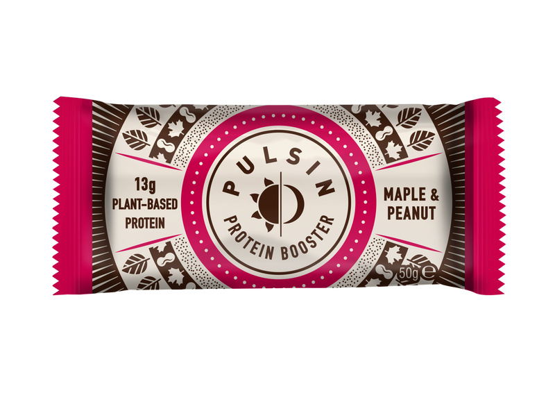 Pulsin - Maple & Peanut Protein Bar 18 Pack
