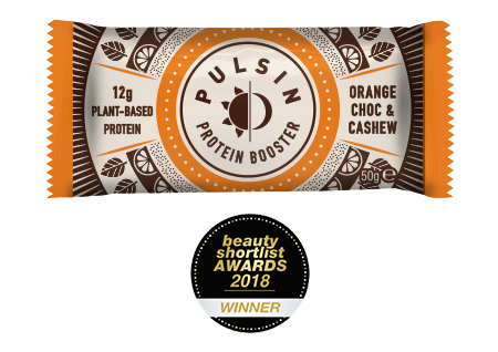 Pulsin - Orange Choc Chip Protein Bar 18 Pack