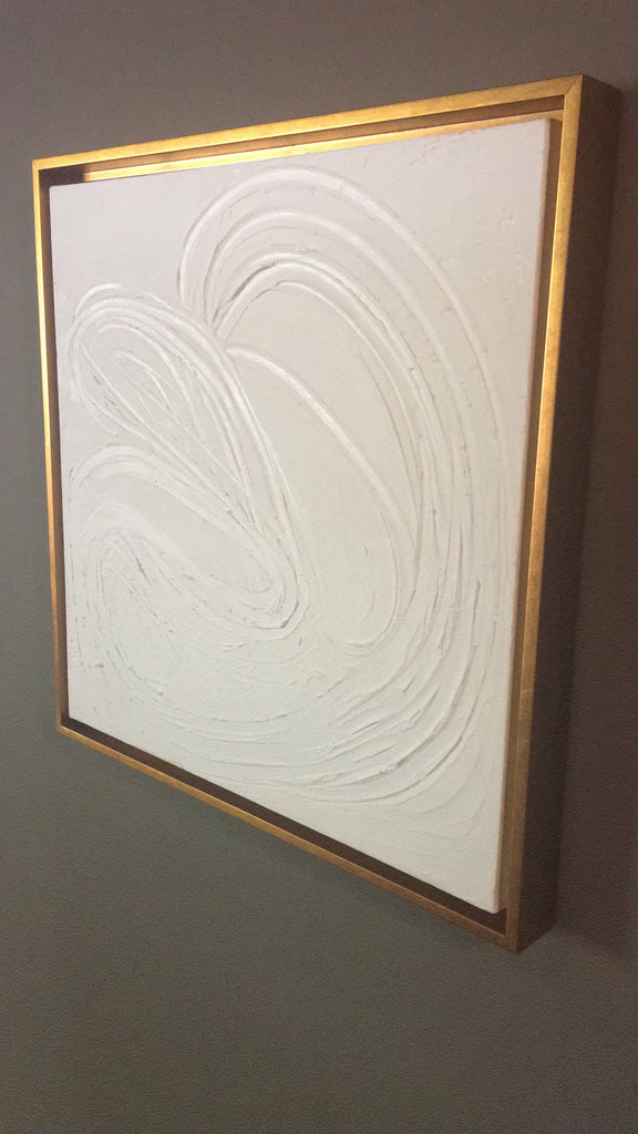 Abstract White Original Painting