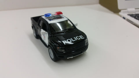 Toy Police Pickup Truck