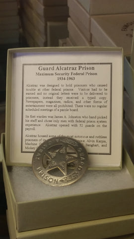 Alcatraz Gaurd Badge