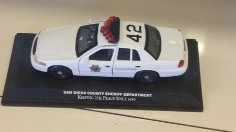 Sheriff's Volunteer Collectable Car