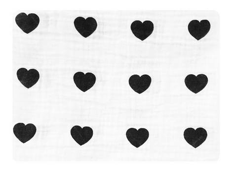 Heart Swaddle Blanket