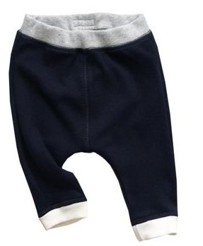 Boys organic cotton pants