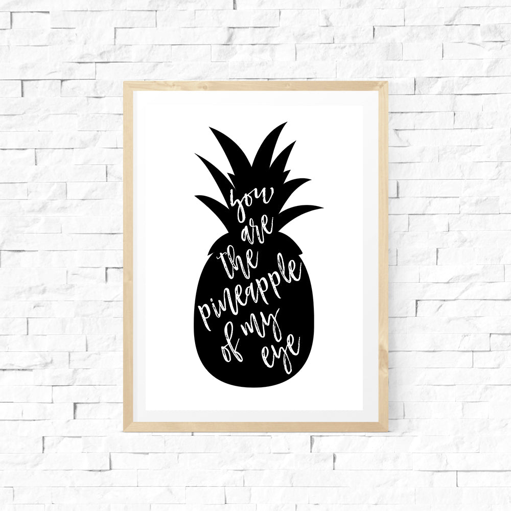 Pineapple of My Eye Print