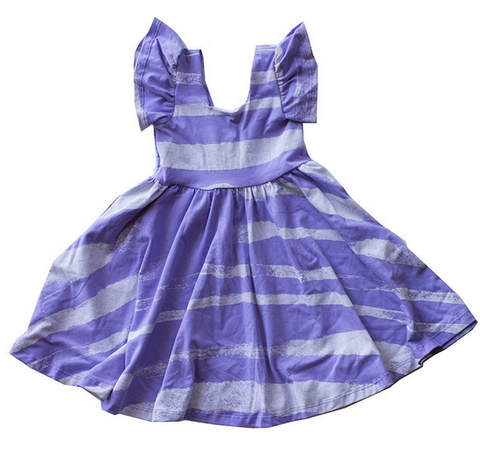 Sunday Dress (painted lilac)