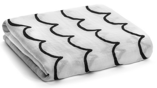 Waves Swaddle Blanket