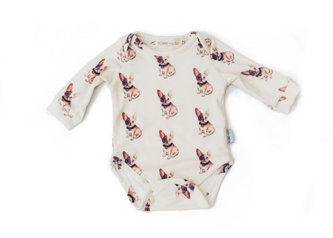 baby girl organic cotton onesie