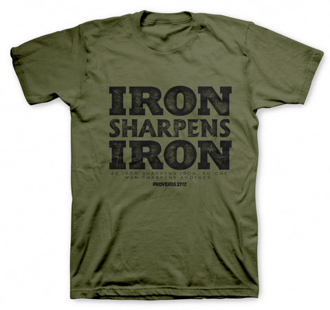 Iron Sharpens Iron Military Premium T-Shirt