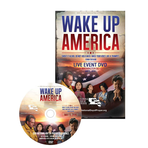 National Day of Prayer 2016 Event DVD