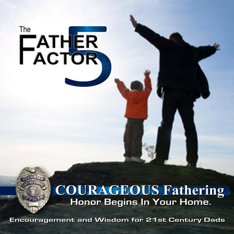 Iron Sharpens Iron - Courageous Fathering The Father Factor CD Volume 5