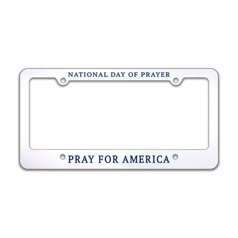 National Day of Prayer Pray for America License Plate