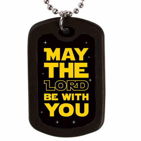 May The Lord Dog Tag Necklace