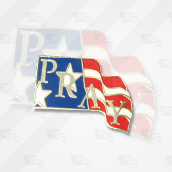 National Day of Prayer Pray Lapel Pin